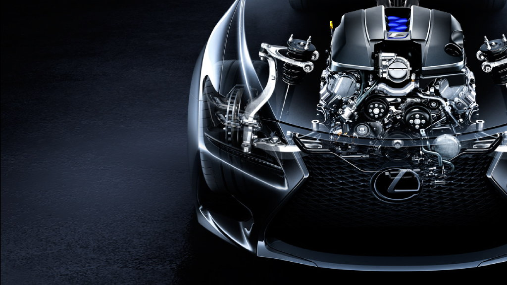 Lexus RC-F Engine