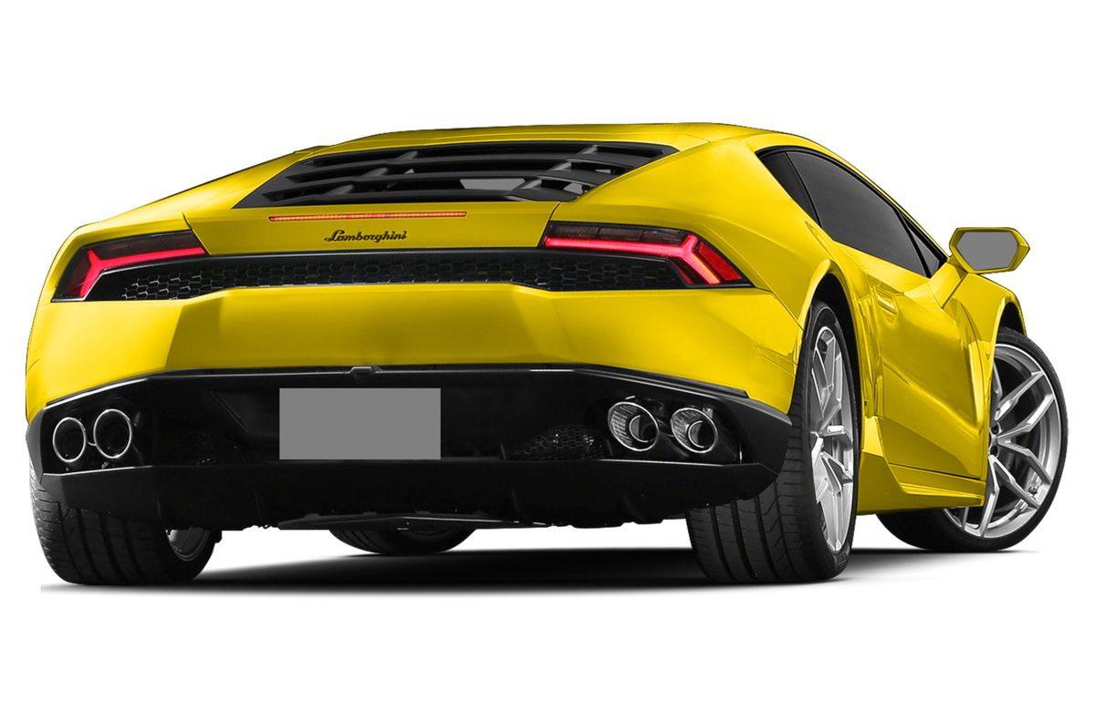 2015 Lamborghini Huracan Rear Quarter