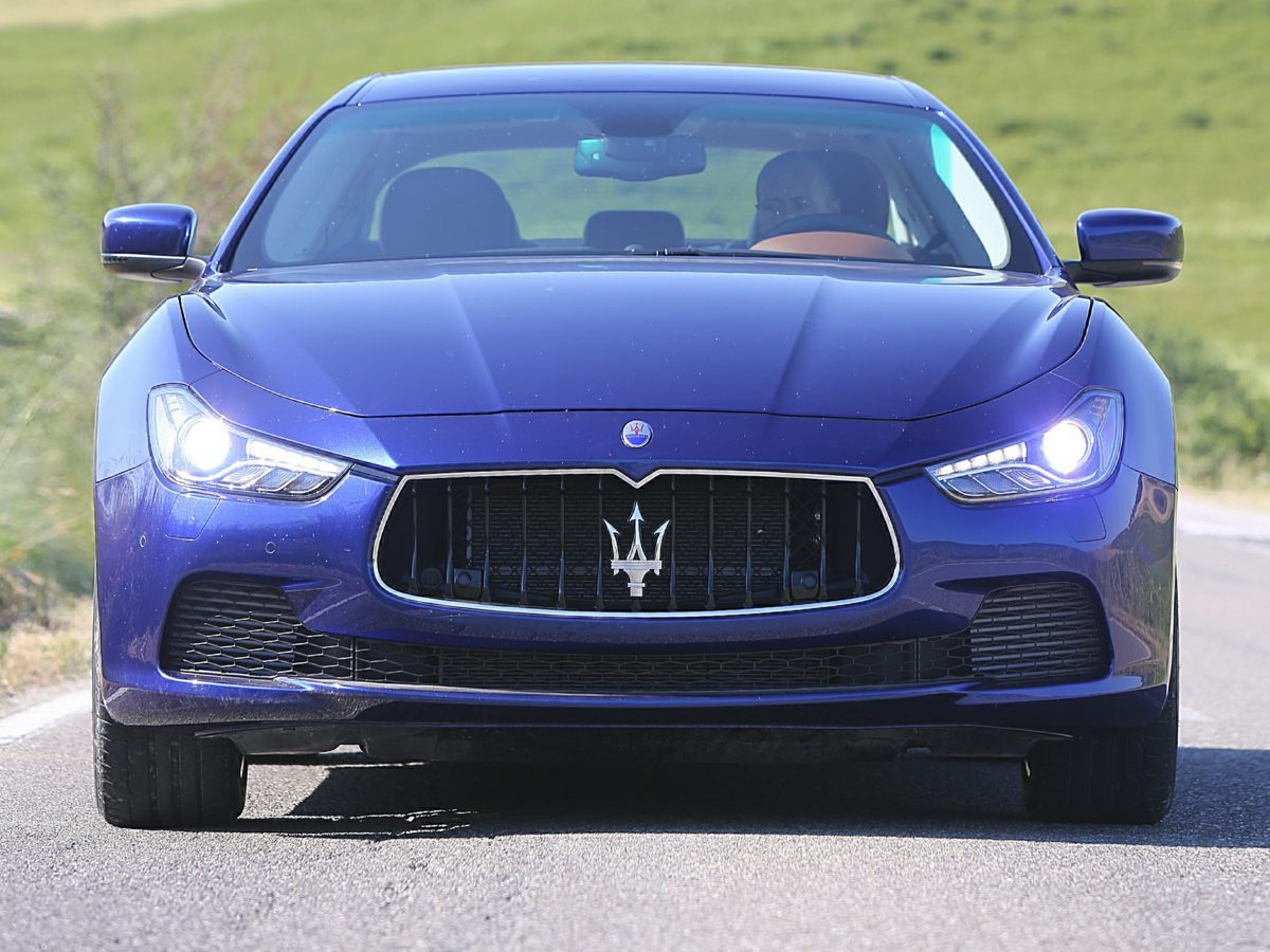2014 Maserati Ghilbi Head On