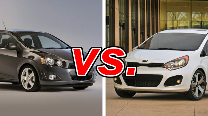 chevrolet sonic vs kia rio carsdirect. Black Bedroom Furniture Sets. Home Design Ideas