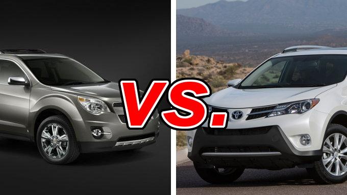 Used Toyota Rav4 For Sale >> Chevrolet Equinox vs. Toyota RAV4 - CarsDirect