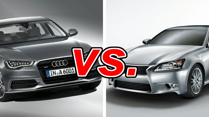 Audi A6 vs. Lexus GS 350 - CarsDirect