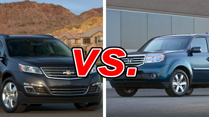Chevrolet Traverse vs. Honda Pilot - CarsDirect
