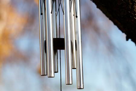 How to create a wind chime for Homemade chimes
