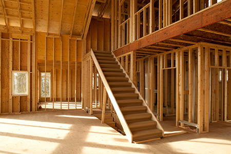How to measure for a wooden staircase for Steps to building a house yourself