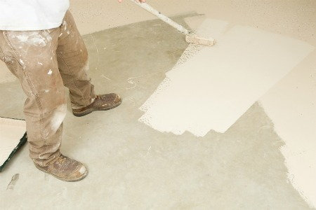 Painting concrete and masonry surfaces for Best way to clean painted concrete floors