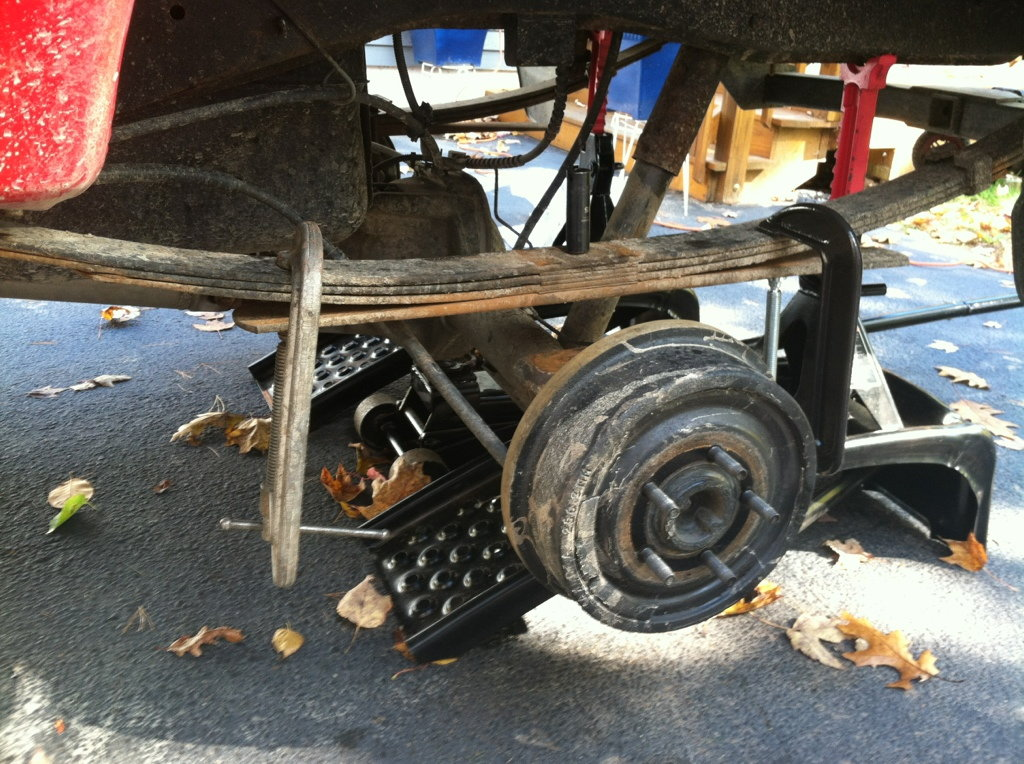 Ford F150 F250 Add A Leaf To Leaf Springs How To Ford