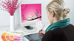 Work at home graphic designer.