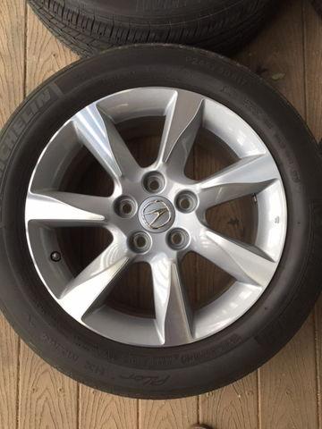 Acura tl wheel locks