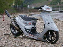 Race Modified Mopeds