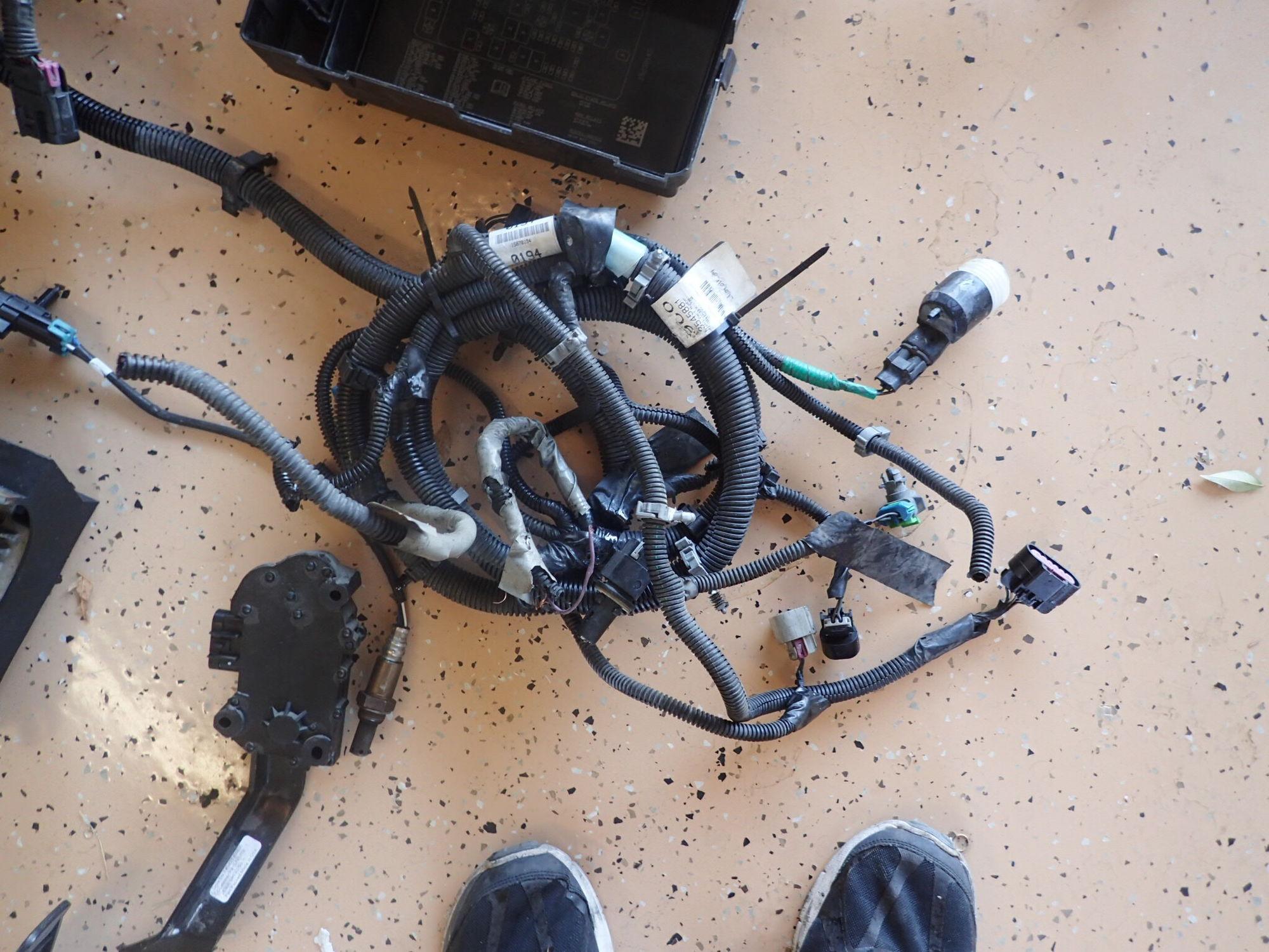 07 Trailblazer SS LS2 wiring harness LS1TECH