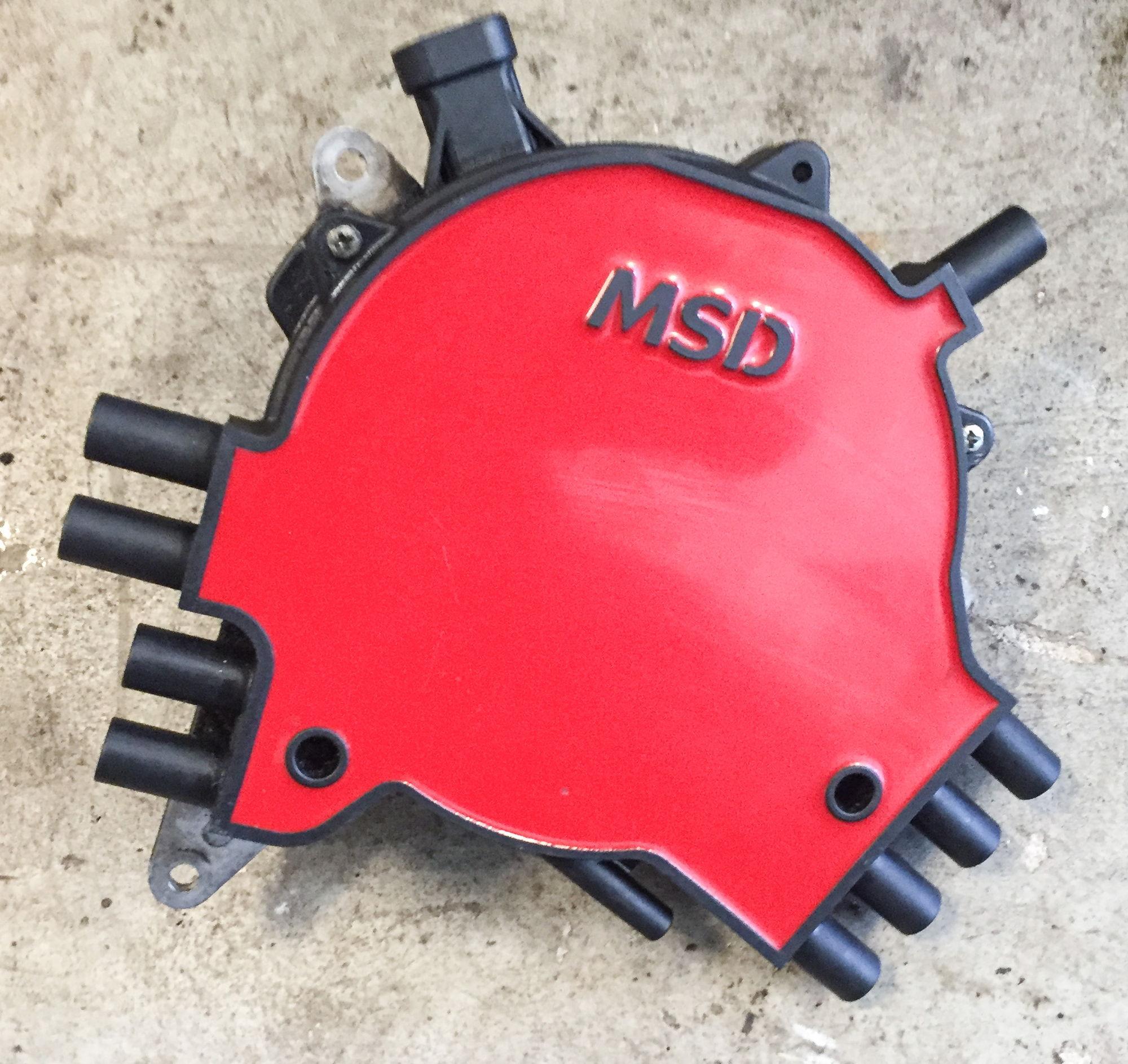 Lt1 Gm Optispark Gear Drive: '95-'97 GM Optispark With MSD Cap And Rotor