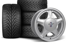 I purchased a set of 17x8 pony wheels with Sumitomo HTZ II 245/45/17 tires.