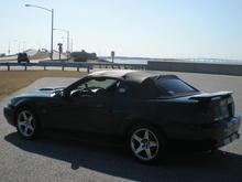 Driving to disney chesapeake bay bridge