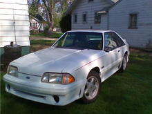 1991 Mustang GT 302 auto
