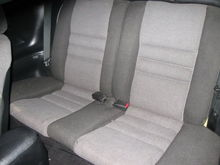 old Rear Seats