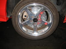 "New 14"" Drilled and Curved Slotted Rotors"