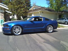 After Shelby CS40 Rims