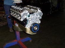 Ford R Block, 331 Stroker, AFR 185's Billet Internals