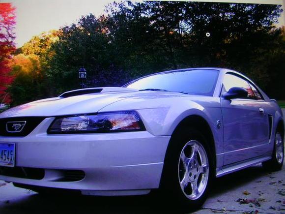 It's stock, but I'm workin on it. It's just a naturally good looking car.
