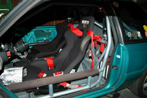 Sparco seats