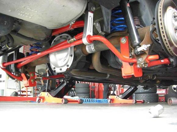 BMR suspension upgrades.