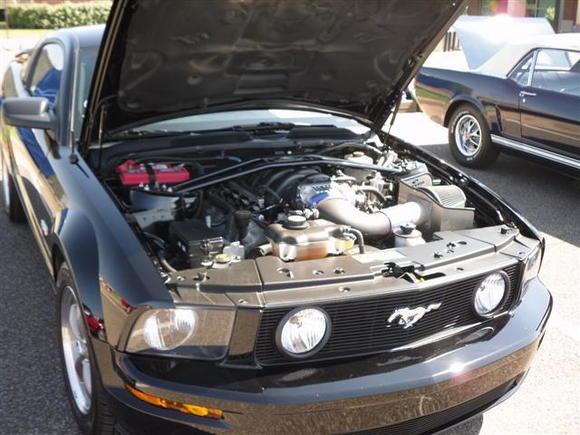 Mustang,Ok MCA car show