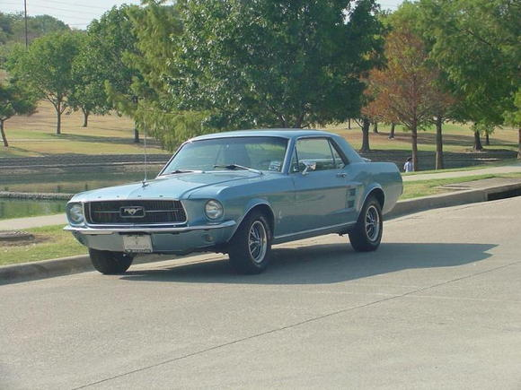 1967 ford mustang 4