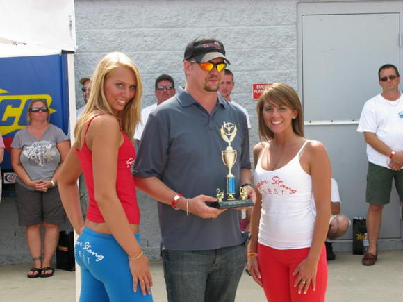 First Mustang Car Show = First Trophy StangFest 2008