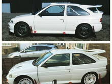 Escort cosworth group a project