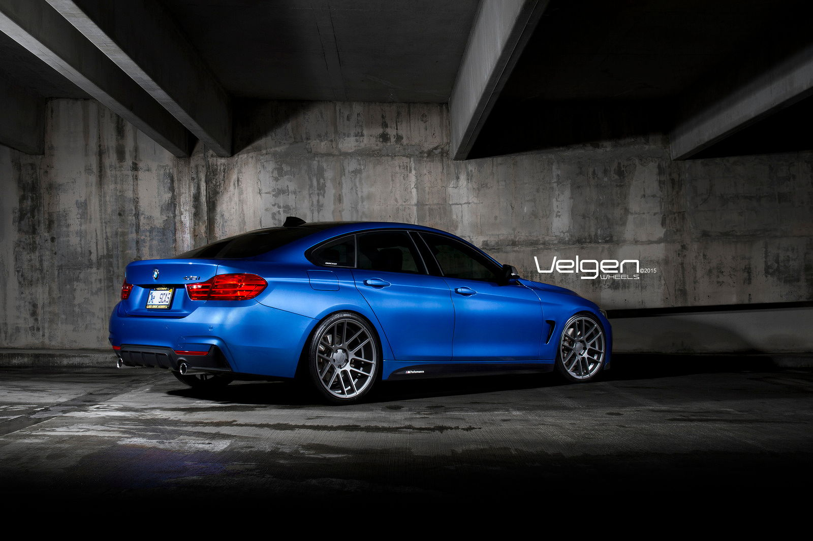 BMW I Gran Coupe On Velgen Wheels - Bmw 4351 coupe