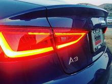 My 2016 Audi A3 Quattro