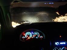 in cab
