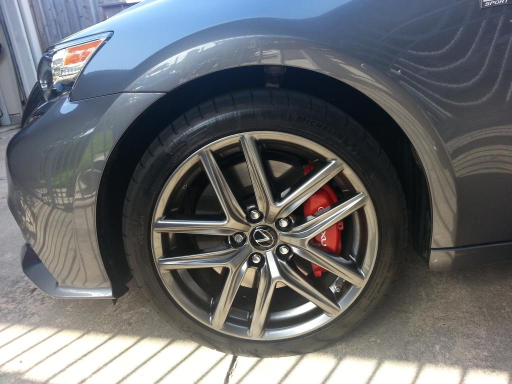 Red Calipers Club Lexus Forums