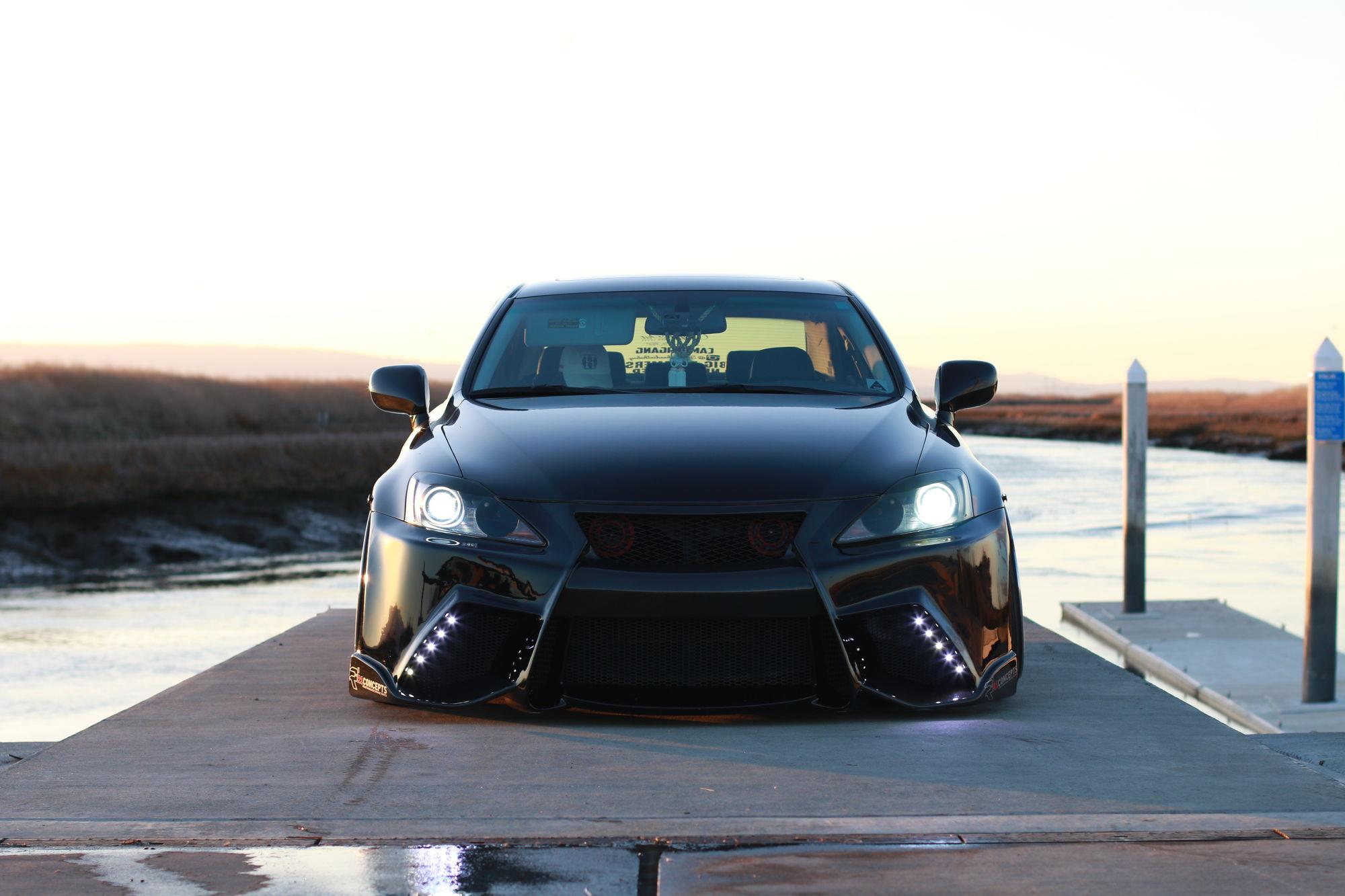 Custom 4GS F-Sport Bumper Conversion With Five Axis Lip ...