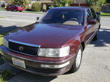 my baby! 1992 LS400