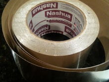 Nashua brand high temperature outdoor rated aluminum foil tape with high surface energy pressure sensitive adhesive...