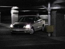 LS430 Parking Garae Photo Shoot