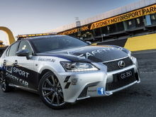 lexus gs 350 f sport safety car