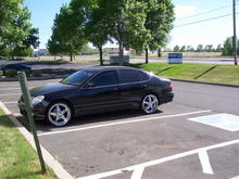 99 gs300 previous.. when on 20s.. bagged ridin' high