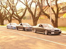Melbatose, and my buddies R32 Skylines.