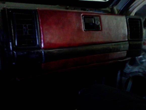 interior of my 94 grand cherokee
