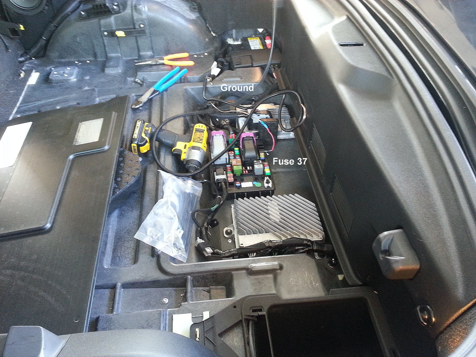 Where Is The Inside Fuse Box Located For 2016 Corvette