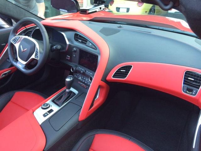 2016 3lt Adrenaline Red Two Tone Pictures Tu7 Corvetteforum Chevrolet Corvette Forum