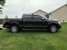 Exterior Image  Added AVS chrome vent shades and tinted front windows