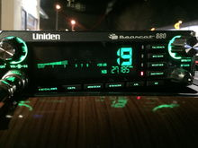 I decided to go with the Uniden Bearcat 880.  I had used Cobras most of my life and had the 'ol RadioShack as a backup.  I wanted to try something different and liked the digital display of this model.  The sideband model (BC980 I think) would have been nice but I didn't want to spend the money on it.