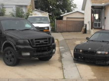 The f150 and my old bimmer. Miss that car.