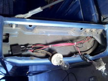 relay for the reverse light. switch in the cab for on, off, and auto. i need to seal that up better