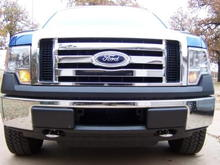 XLT grill and chrome hooks