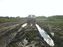 gonna get a little muddy